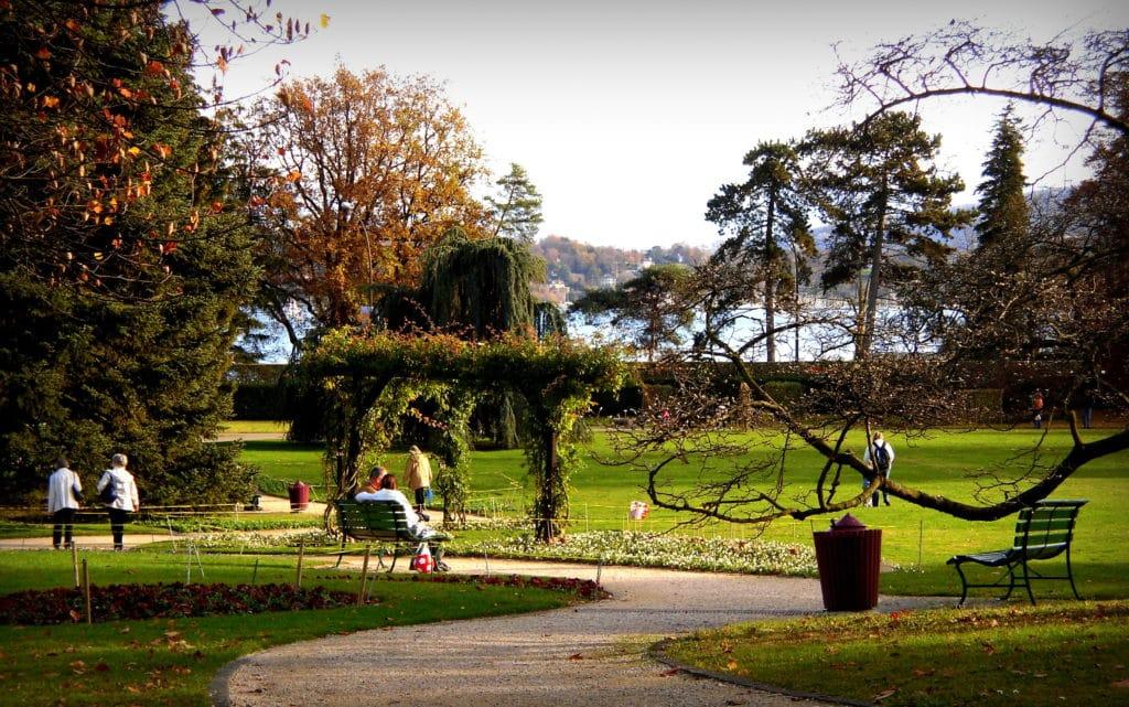 Le Jardin botanique - Activité famille Suisse